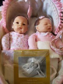 Ashton drake reborn twin dolls