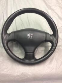 Peugeot sport steering wheel