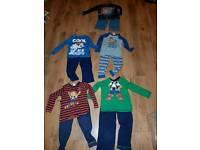 Boys bundle pyjamas age 3-4