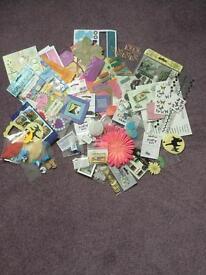 Card making/scrapbooking embellishments