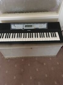 Yamaha electric keyboard for sale, good condition, no stand