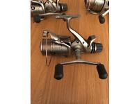 3 x shimano 8000B GTE bait runners limited edition