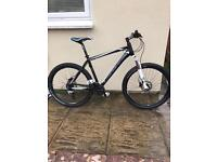 Men's cube aim mountain bike matte black