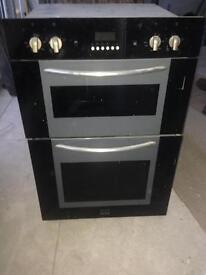 Electric built in double oven
