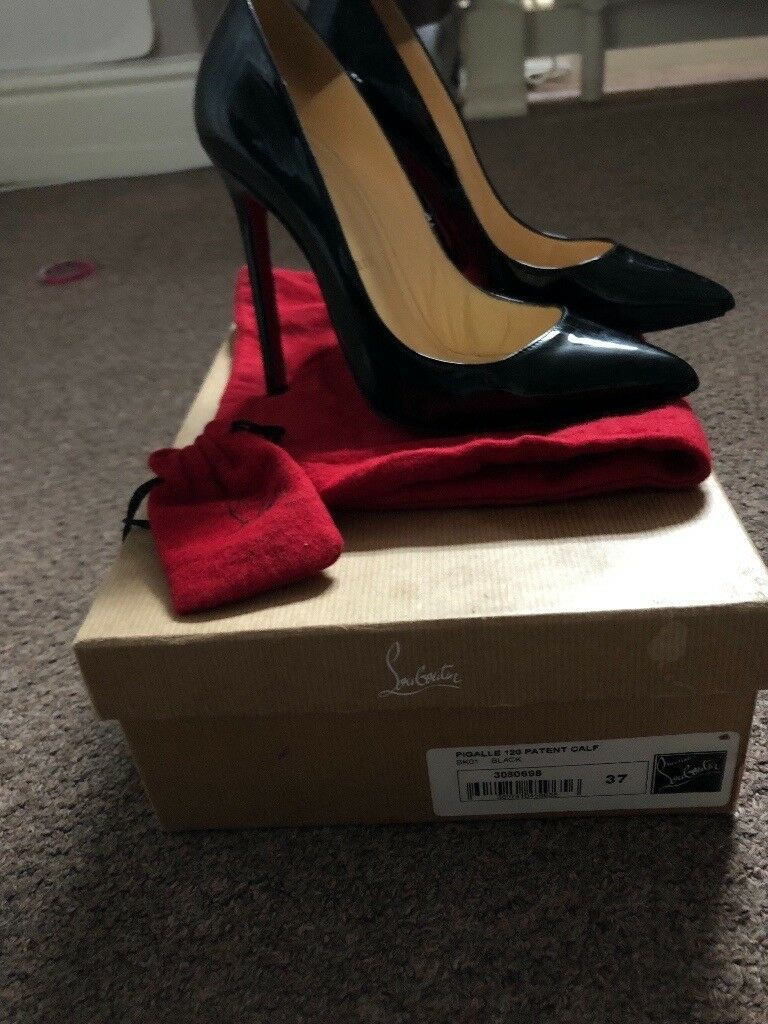 Louboutin pigalle size 4 £195  f313e6132