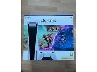 PlayStation 5 Bundle - PS5 disc & Ratchet & Clank: Rift Apart