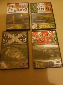 Visions of england ireland scotland and wales dvd set