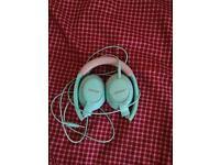 Bose headphones , green