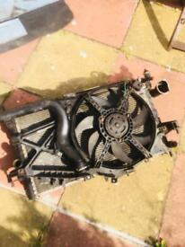 Vauxhall Corsa cdti complete radiator