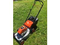 Self propelled petrol mower Flymo Quicksilver 46SD lawnmower full serviced great order Briggs engine