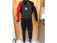 2.5mm Jobe wetsuit class men's size