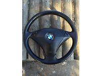 BMW e60/61 steering wheel