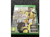 Fifa 17 Xbox one - bought new used for a year ( great condition )