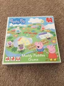 Peppa pig rare muddy puddles game