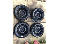Banded g60 steels wheels 4x100