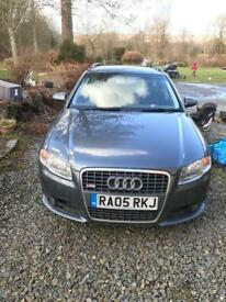 Audi A4 Avant TDI S Line Quattro 3.0 Ltr Manual 2 previous owners History recent clutch