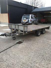 12x66 ifor Williams flat trailer