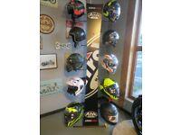Motorcycle Helmets - Full range of AIROH in stock now. EVOLUTION MOTOR WORKS - Lurgan