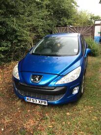 Peugeot 308 1.6 VTI for spares or repair