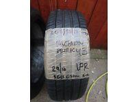 205/55/17 95V Michelin Pharmacy 3 tyre with 5-6-6 tread remaining
