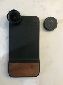 iPhone 18mm Wide Angle Lens & Case