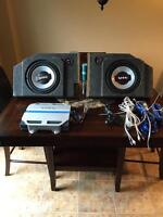 Infinity Subs and 311a amp *GREAT CONDITION*