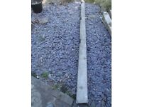 Concrete fence post 2.5 metres - free to collector