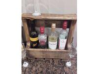 Wine Rack. dark wood)