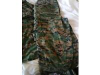 Military/Airsoft uniforms Genuine BDU's not chinese repro's