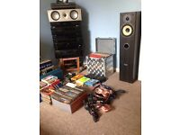 *** Retro Hi Fi Seperates Music Sound Sytem Complete *** £500
