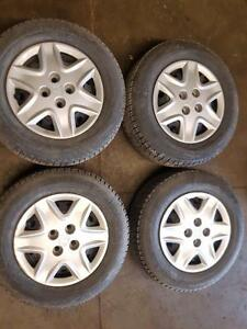 Civic rims with michelin tires best condition