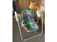 Fisher Price Discover & Go Take Along Baby Swing Chair