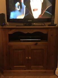 Solid Pine corner tv unit from woodys pine in Ipswich