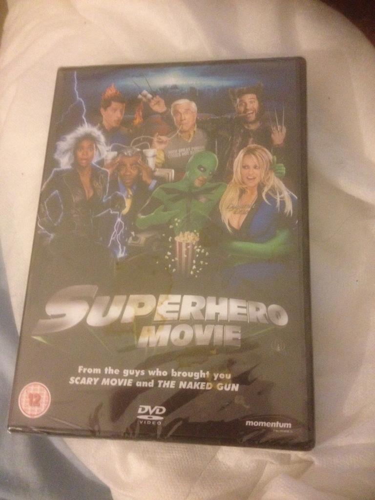 Superhero movie DVD new and sealed