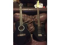 Electric Acoustic and Electric guitar - £150 for 2 or £80 each