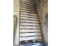 Long Length of metal railing ( 343 cm long x 88 cm high)
