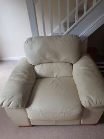 2-seater sofa and arm chair