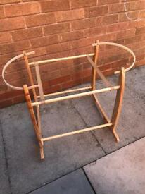 SOLD. Moses basket stand