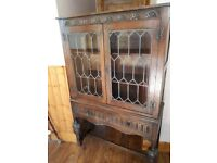 Old Charm display cabinet.