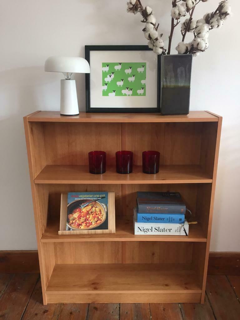 Ikea Oak Veneer Narrow Billy Bookcase W78 X D20 X H92 Cm In Stoke Newington London Gumtree