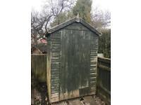 Garden shed 4x4