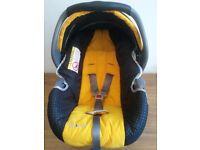 BABY CAR SEAT, GRACO-JUNIOR, SIDE HEAD PROTECTION, UNIVERSAL,SUITABLE FROM NEW BORN TO 15 MONTHS OLD