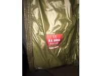CP COMPANY D.D. SHELL JACKET IN OLIVE SIZE L