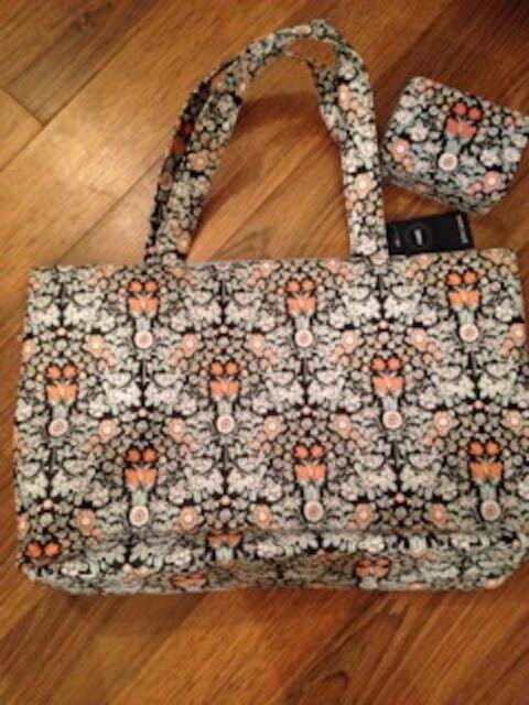 John Lewis Make Daisy Chain Tote Ping Sewing Knitting Beach Bag Tin New