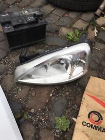 Vauxhall combo van headlight