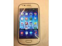 Samsung galaxy S3 Mini used unlocked White color
