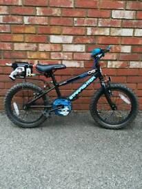 Boys bike age 5-8 16 inch wheel