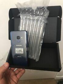 Brand New Samsung Galaxy S9 64GB DS ( dual sim card)