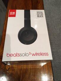 Beats Solo3 Wireless - Matte Black - £220