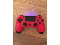 Red PS4 Controller (Barely used)